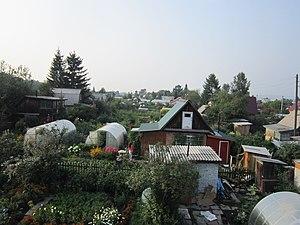 Iskitimsky District - Residential gardens, Iskitimsky District