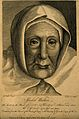 Isobel Walker, aged 112. Line engraving by H. Gavin after J. Wellcome V0007292.jpg