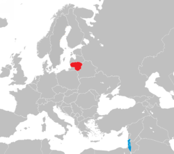 Israel-Lithuania locator.png
