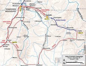 Battle of Hatchie's Bridge - Second phase of the Iuka–Corinth Campaign