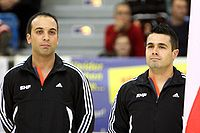 Ivan Cacador and Eurico Nicolau, Handball-Referee.jpg