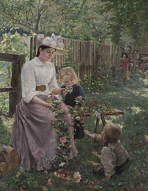 Ivana Kobilca - Summer, 1889
