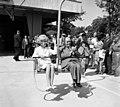 Jánoshegy, a Libegő végállomása, átadási ünnepség. A Libegő ülésén Dr. Csanádi György közlekedési és postaügyi miniszter. Fortepan 97926.jpg