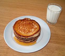 pannkakor med lite mjölk