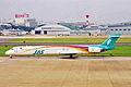 JA002D MD-90-30 JAS Japan Air System NGO 07JUL01 (7024146757).jpg