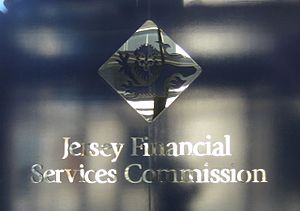 Economy of Jersey - Logo of the financial regulator Jersey Financial Services Commission
