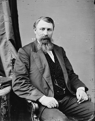Paul Grottkau - Gov. Jeremiah Rusk, who called out the National Guard on Milwaukee strikers early in May 1886. Grottkau would be imprisoned in the aftermath.