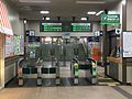 JR Hakodate-Main-Line・Sassho-Line Soen Station Gates (East Exit).jpg