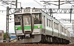 Chitose Line - Image: JR Hokkaido 721 series EMU 003