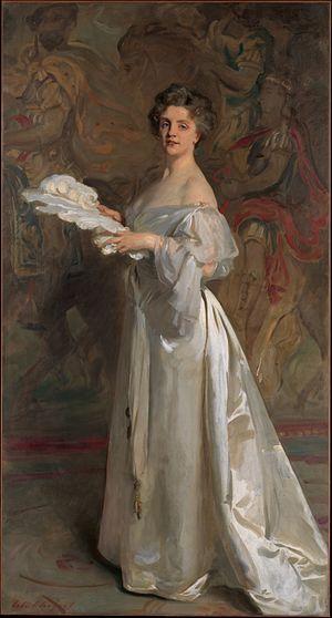 Ada Rehan - John Singer Sargent's 1895 portrait of Ada Rehan from The Met collection