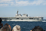 JS Ise in the exercise day 1 for the SDF Fleet Review 2012, -8 Oct. 2012 c.jpg