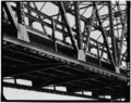 J Ceronie, photographer. BOTTOM CHORD CONNECTIONS AT PANEL POINTS 2L, 3L, AND 4L (1. to r.), SPAN 8 (PRATT) - Eagle Point Bridge, Dubuque, Dubuque County, IA HAER IOWA,31-DUBU,3-76.tif