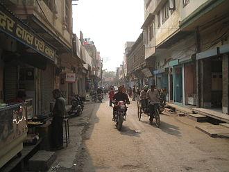 Jagadhri - An old market road of Jagadhri