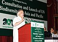 Jairam Ramesh delivering the inaugural address at Stakeholders' Consultation on the Convention on Biological Diversity, in New Delhi on May 23, 2011.jpg
