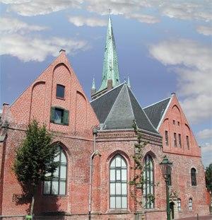 "Emden Revolution -  The former ""Great Church"" in Emden, now the Johannes a Lasco Library"