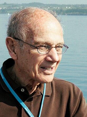 James Cronin - Cronin at the 2010 Lindau Nobel Laureate Meeting