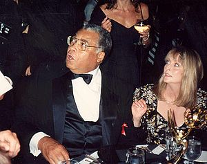 James Earl Jones at the Governor's Ball after ...
