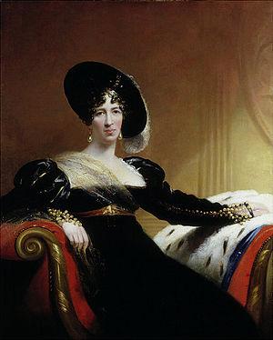 Archibald Hamilton, 9th Duke of Hamilton - Lady Anne Hamilton (1766-1846), in 1815