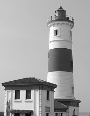 Accra - Jamestown Lighthouse in Jamestown/Usshertown