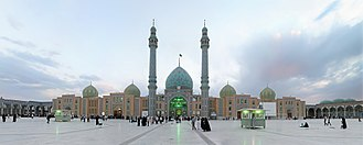 Qom Province - Image: Jamkaran Mosque