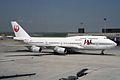 Japan Airlines JAL Boeing 747-446 JA8901 (26972954714).jpg