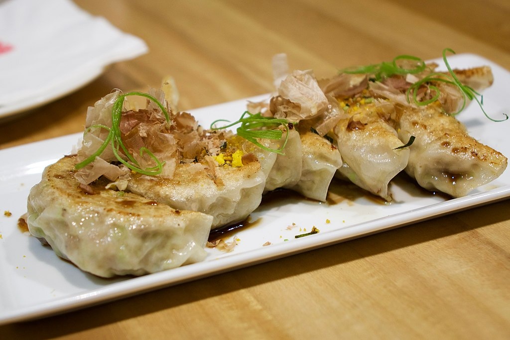 Japanese pan fried gyoza