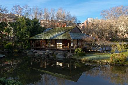 Salon de th du jardin japonais de toulouse jardin japonais for Jardin japonais toulouse