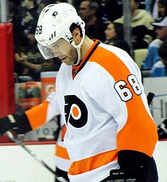 Jaromír Jágr - Jágr with the Flyers in 2011