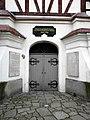 Jawor, Kościół Pokoju, wejście do kościoła.jpg