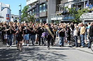 Moldejazz - Street Parade at Moldejazz in 2010