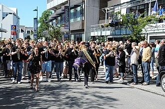 Moldejazz - Street Parade at Moldejazz in 2010