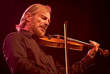 Jean-Luc Ponty at the Nice Jazz Festival in 2008