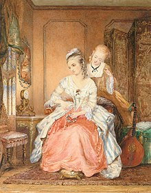 Jean Carolus A lady and her maid.jpg