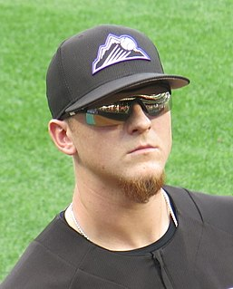 Jeff Hoffman American baseball player for the Colorado Rockies