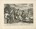 Jefta wordt door zijn broers verjaagd Geschiedenis van Jefta (serietitel), RP-P-OB-102.809.jpg