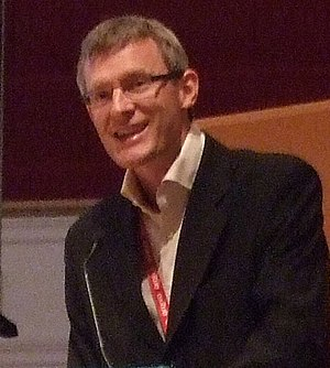 Jeremy Vine - Vine presenting at the 2008 Radio Festival