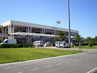 Jerez Airport - Image: Jerez Airport back