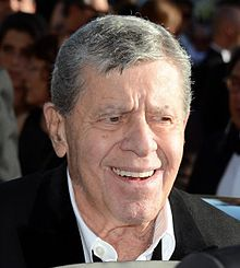 Jerry Lewis vid Filmfestivalen i Cannes 2013.