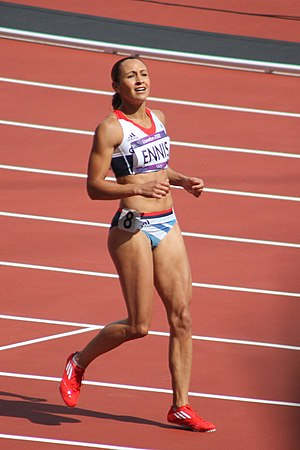 Jessica Ennis-Hill - Ennis-Hill at the 2012 Summer Olympics