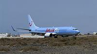 OO-JAF - B738 - TUI fly Belgium