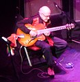 Jim Hall at Sonny Rollins 80th birthday show, the Beacon Theater, New York City, 2010-09-10.jpg