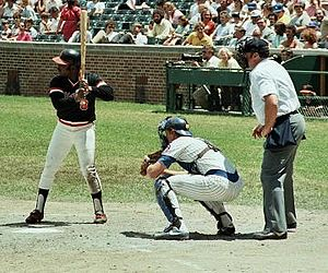 Joe Morgan - Morgan at bat for the Giants in 1981.
