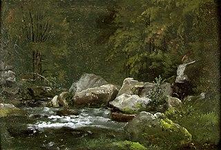 Stream in the Liebethaler Grund