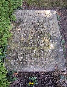 Friedrich Kinds Grab auf dem Dresdner Trinitatisfriedhof (Quelle: Wikimedia)