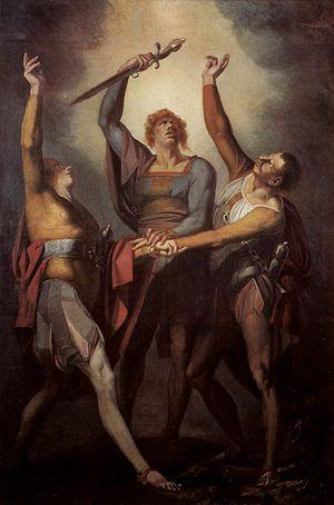 Rütlischwur - Henry Fuseli (1780)