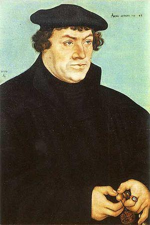Johannes Bugenhagen - Johannes Bugenhagen by Lucas Cranach the elder 1532