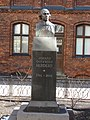 Johans Gotfrīds Herders 1744-1803 (kopija pēc Ludviga Šallera Veimārā darinātā pieminekļa 1864., 1959.) Herdera laukums, Rīga, Latvia - panoramio.jpg