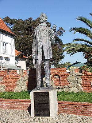 Carlsbad, California - Statue of John Frazier