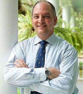 John Bel Edwards 56th Governor of Louisiana