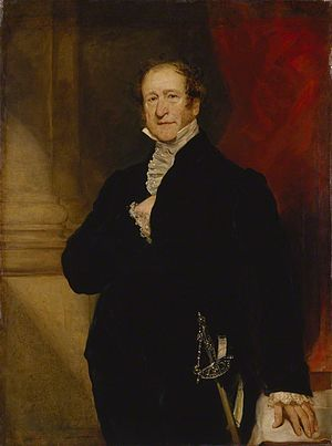 John Campbell, 1st Baron Campbell - Lord Campbell  by Thomas Woolnoth circa 1851.
